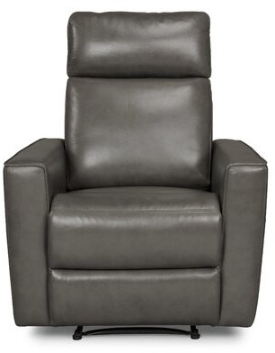 Latitude Run Pell Leather Power Recliner