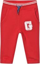 Gap Pure Red Logo Fleece Sweats