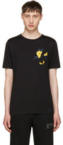 Fendi Black Butterfleyes T-shirt