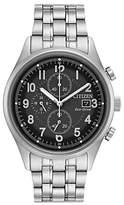 Citizen Ca0620-59h Chronograph Date Bracelet Strap Watch, Silver/black