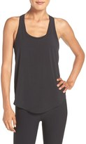 Zella Women's 'Flow Over' Woven Tank