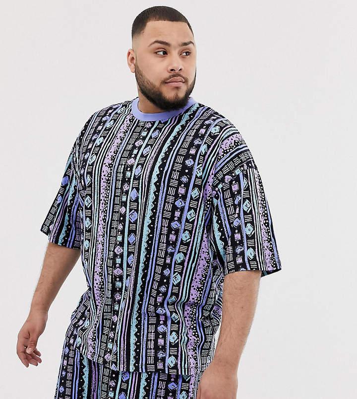 544d5467 Tribal Print Tshirt Men - ShopStyle