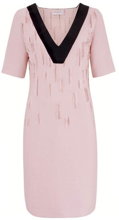 Amanda Wakeley Dial Blush Short Dress