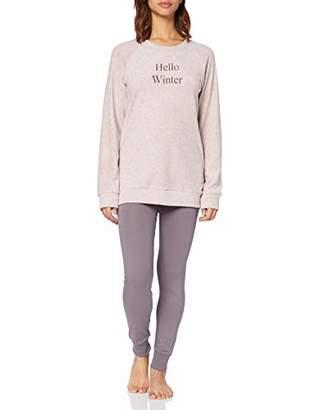 Schiesser Women's Anzug Lang Pyjama Sets,(Size: 044)