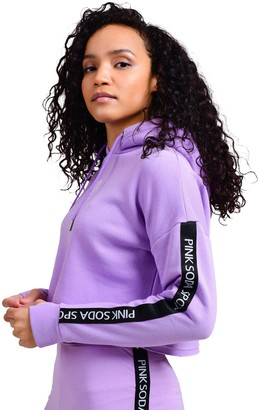 Pink Soda Congo Taped Hood - Lilac