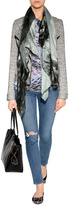 Dolce & Gabbana Tonal Taupe Acetate Leopard/Lace Print Sunglasses