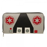 Bioworld Black & Red Galactic Empire Zip Wallet