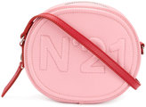 No.21 logo clutch bag