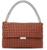 Stella McCartney brandy becks weaved shoulder bag