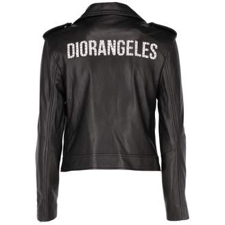 Christian Dior Black Leather Leather jackets