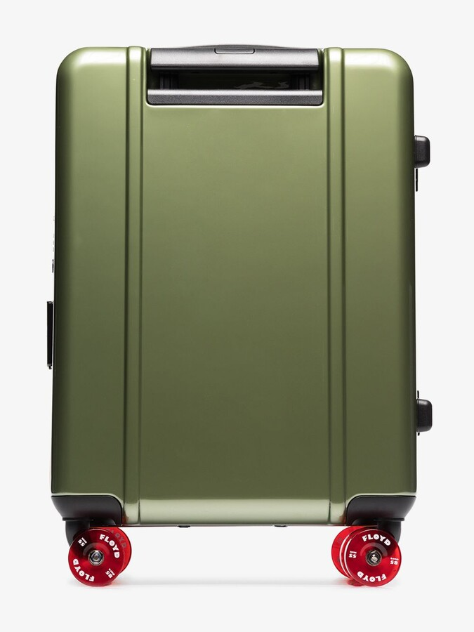 Thumbnail for your product : Floyd Vegas Green Check-In Suitcase