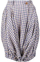 Vivienne Westwood checked shorts