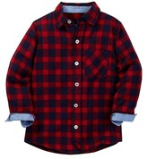 Toobydoo Lumber Joe Flannel Shirt (Toddler & Little Boys)