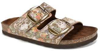 White Mountain Footwear Harlow Buckled Footbed Sandal