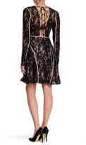Do & Be Do + Be Long Sleeve Lace Fit and Flare Dress