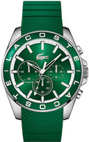 Lacoste Men's Green Silicon Strap Watch