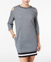 Jessica Simpson The Warmup Juniors' Cold-Shoulder Dress