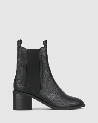 betts Luxe Block Heel Ankle Boots