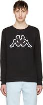 Gosha Rubchinskiy Black Kappa Edition Logo Pullover