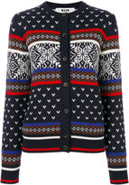 MSGM patterned cardigan