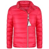 Moncler MonclerGirls Fuchsia Down Padded Amy Jacket