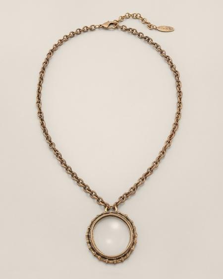 Chico's Stella Long Pendant Necklace