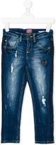 Vingino distressed denim jeans