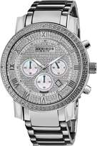 Akribos XXIV Men's AK439SS Grandiose Diamond Quartz Chronograph Dial Watch