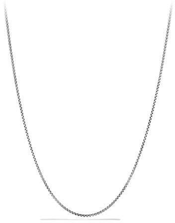 David Yurman Baby Box Chain Necklace