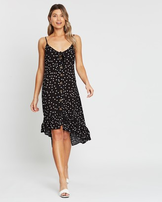 Atmos & Here Lulu Button Front Dress