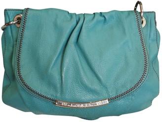 Lancel \N Turquoise Leather Handbags