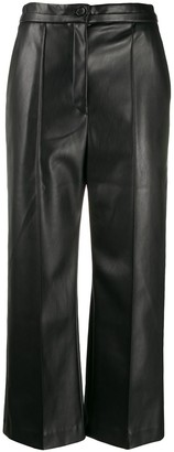 Chalayan Wide Leg Cropped Trousers