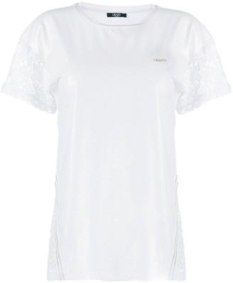 Liu Jo lace insert T-shirt