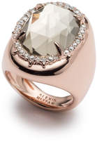 Alexis Bittar Crystal Encrusted Halo Stone Ring