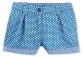 Petit Bateau Girls lightweight print denim shorts