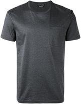 Alexander McQueen skull insert T-shirt - men - Cotton - L