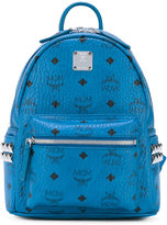 MCM logo stamp backpack - women - Leather - One Size