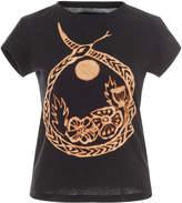 Anna Sui Infinity Snake Tee Shirt