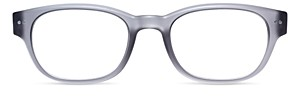 Look Optic Unisex Bond Rectangular Blue Light Glasses, 50mm
