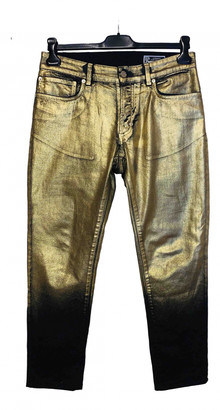 Versace Gold Cotton - elasthane Jeans