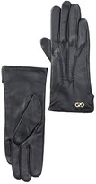 Cole Haan Leather Center Point Gloves