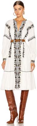 Ulla Johnson Vanita Dress in Blanc   FWRD