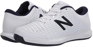 New Balance 696v4 (White/Pigment) Men's Tennis Shoes