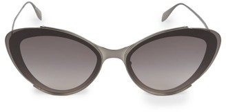 Alexander McQueen 66MM Cat Eye Sunglasses