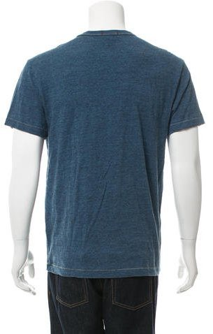 Todd Snyder Printed Crew Neck T-Shirt