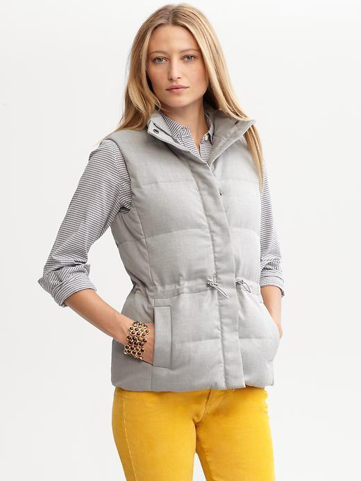 Banana Republic Down-filled puffer vest