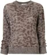 Sea leopard pattern jumper