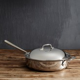 All-Clad Stainless Steel 4-Quart Sauté Pan with Domed Lid
