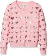 Yumi Girl's Heart and Bow Cardigan,13-14 Years