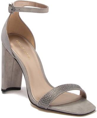 Pelle Moda Gabi 3 Shimmer Suede Ankle Strap Sandal